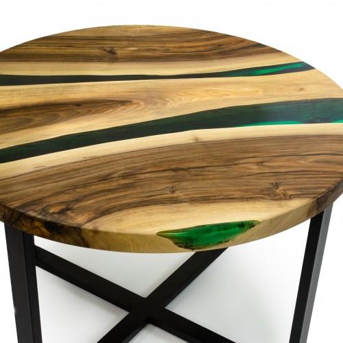 """Кофейный столик """"Две реки"""""""