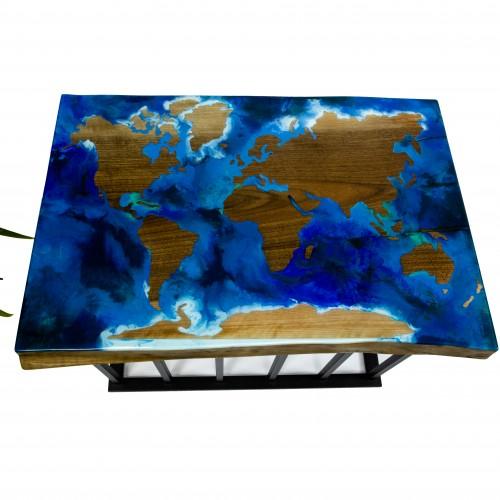 Журнальный столик карта