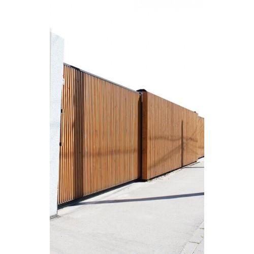 """Деревянный забор """"Komfort"""""""