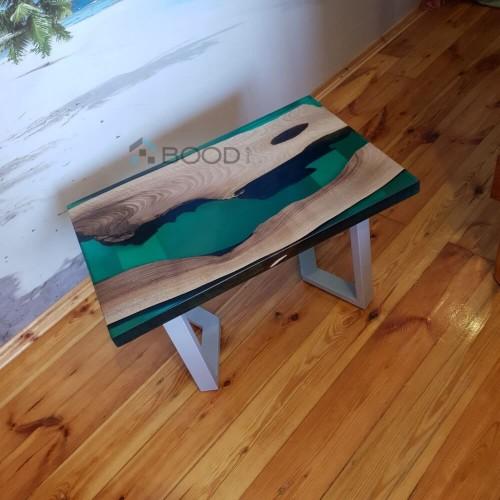 Кофейный столик изумруд