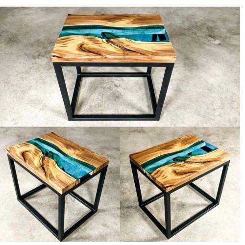 Журнальный столик куб