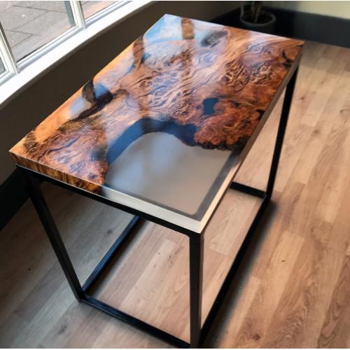 Эксклюзивный стол из капового тополя