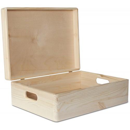 Декоративный Ящик с Крышкой Низкий