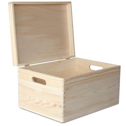 Декоративный Ящик с Крышкой Высокий