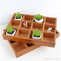 Декоративный Ящик с 12 Секциями