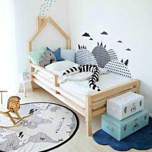 Кроватка Дом на Ножках