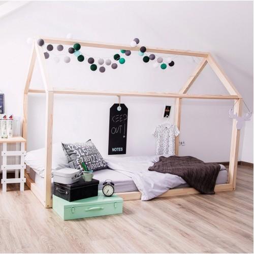 Кроватка Дом с Низким Полом