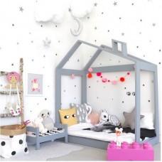 Кроватка Серый Дом