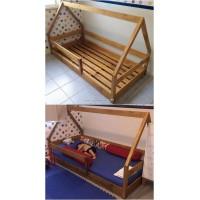 Кроватка Треугольная