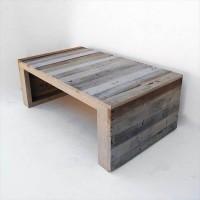 Сплошной столик из Паллет