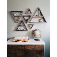 Декоративные Полки Треугольники