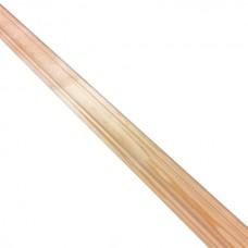 Плинтус фигурный сосна Лесстройинвест срощенный 2500х35х35 мм 1 сорт