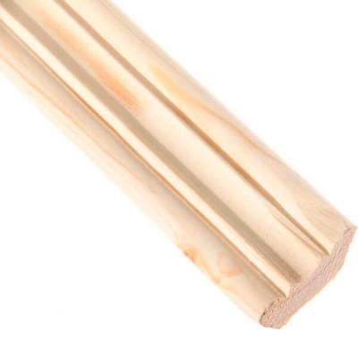 Плинтус фигурный Лесстройинвест 2500х35х35 мм сосна 1 сорт
