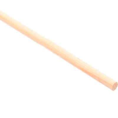 Плинтус Лесстройинвест сосна круглый 1200х12х12 мм 1 сорт